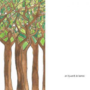 en hij wordt de boom